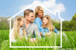 Haus und Garten sind wichtige Wohlfühlfaktoren - © drubig-photo - Fotolia.com