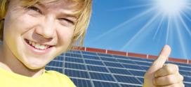 Solarstrom in das öffentliche Stromnetz einspeisen